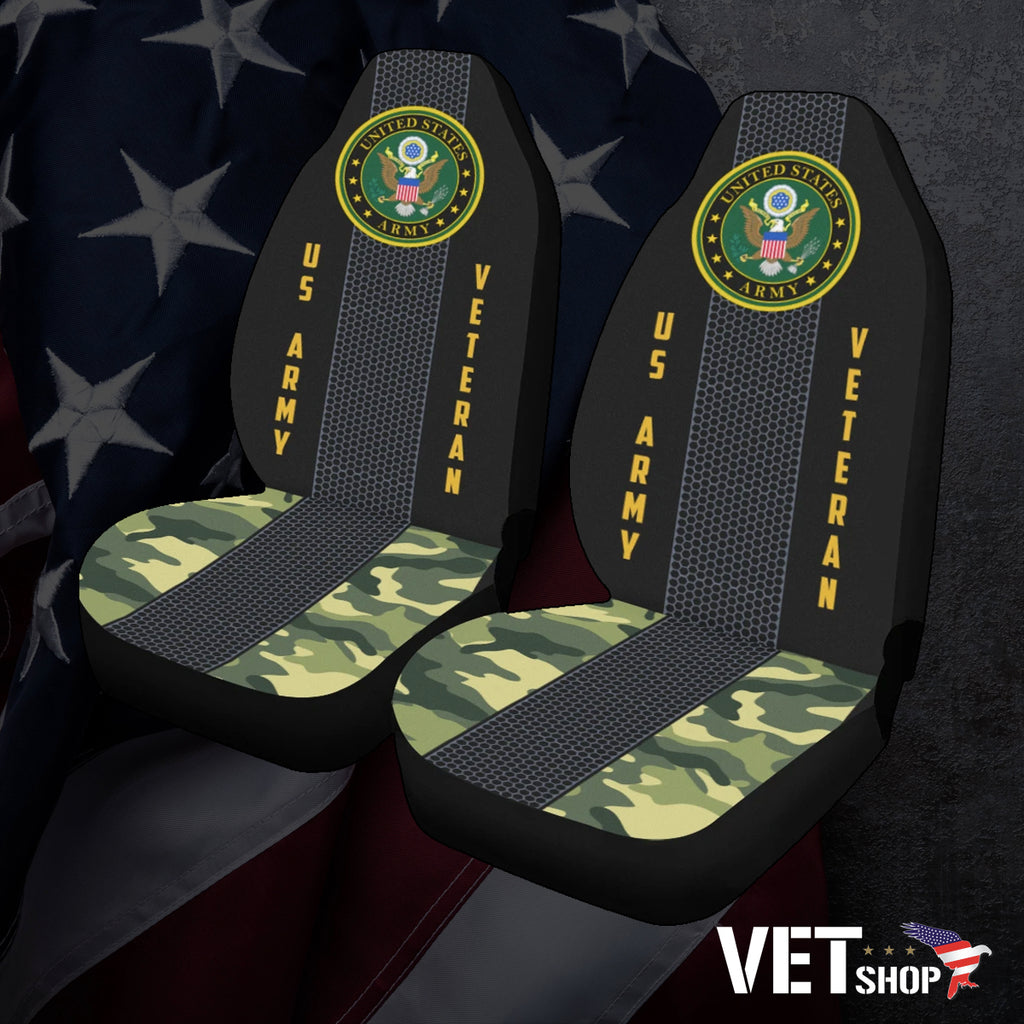 Army Veteran Seat Covers