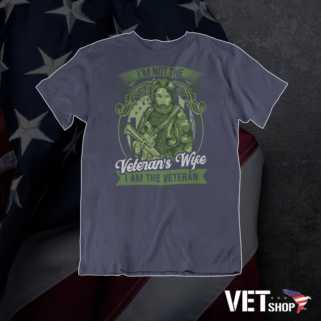 I am The Veteran Tee