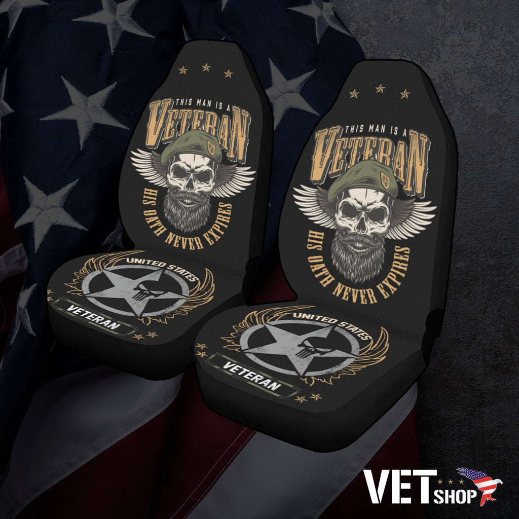 Veteran Oath Seat Covers