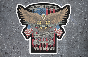 U.S. Veteran Sticker