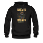 Slow Is Smooth Hoodie - black