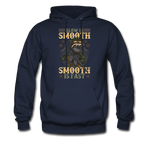 Slow Is Smooth Hoodie - navy