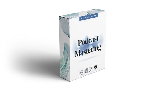Podcast Mastering Preset Pack - Ryan Freeman - Podcasting in Logic pro, GarageBand, Adobe Audition & REAPER