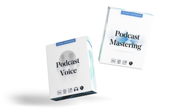 Podcast Voice Processing & Mastering Preset Bundle - Ryan Freeman - Podcasting in Logic pro, GarageBand, Adobe Audition, Audacity & REAPER