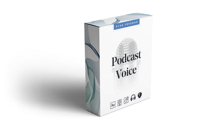 Podcast Voice Processing Preset Pack - Ryan Freeman - Podcasting in Logic pro, GarageBand, Adobe Audition, Audacity & REAPER