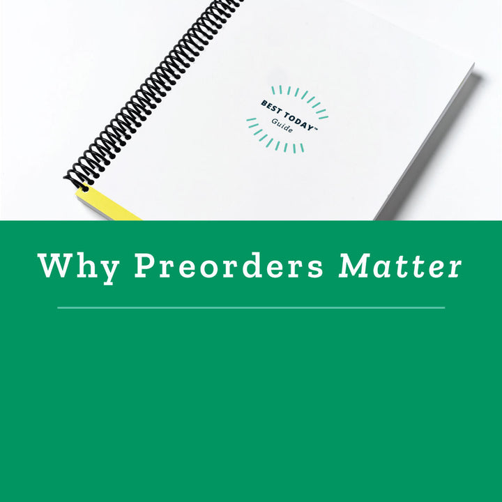 Why Pre-Ordering from a Small Business Matters A LOT