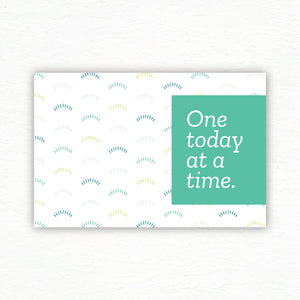 Best Today™ Postcards: One Today at a Time Set