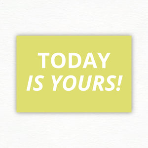 Best Today™ Postcards: Today is Yours Set