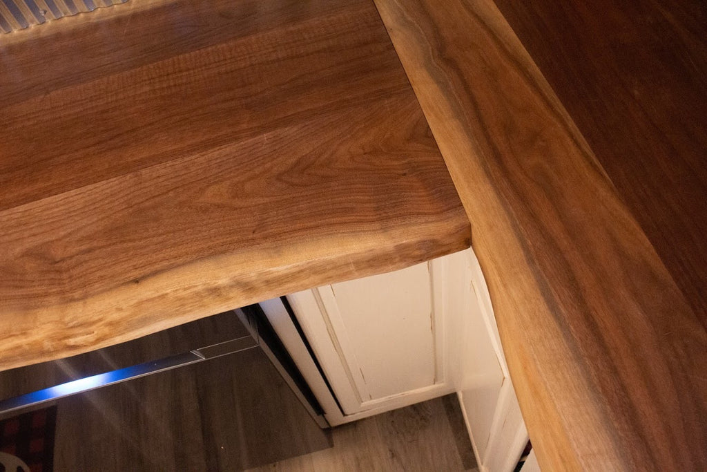 walnut countertop