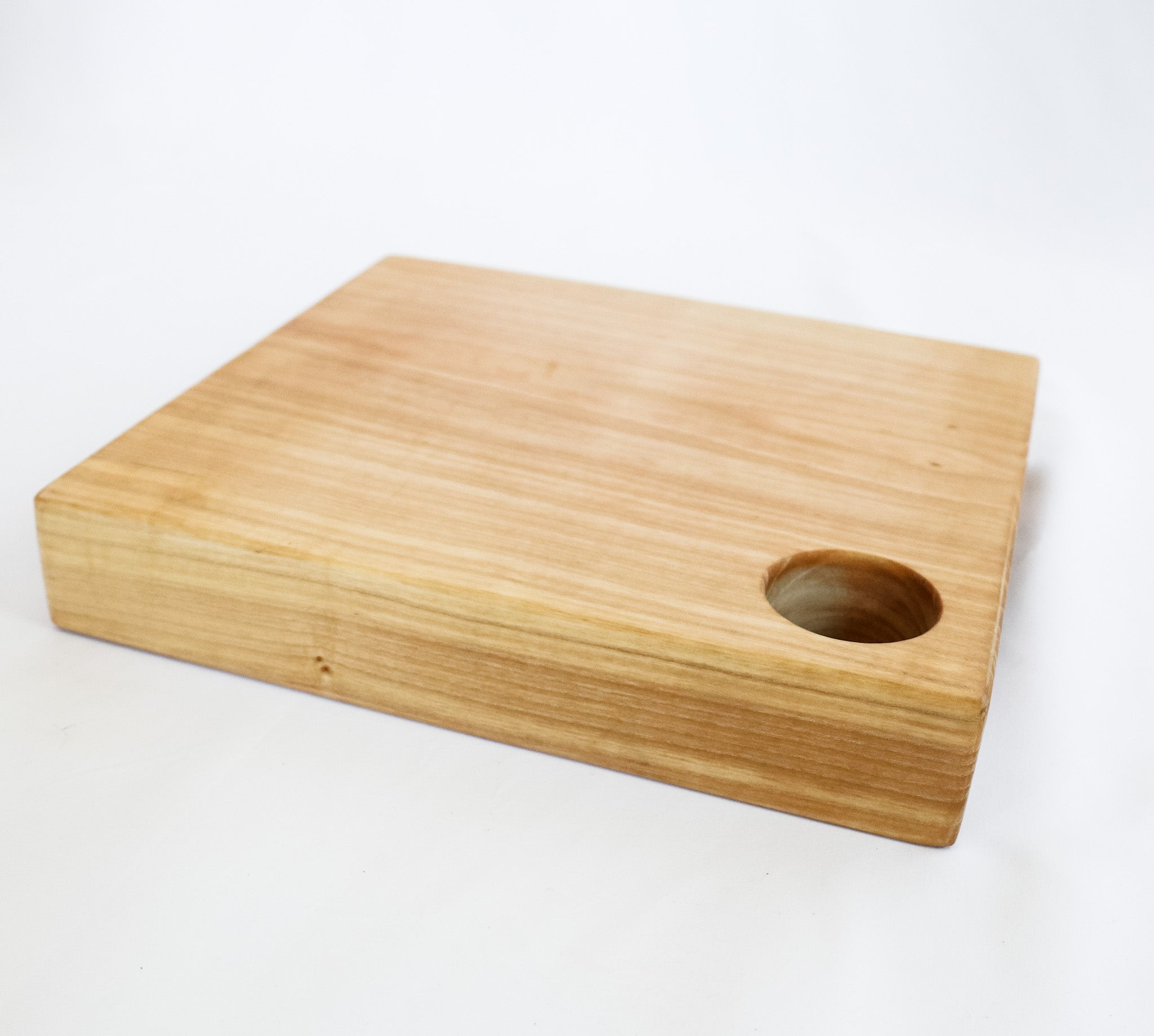 thick ash butcher block cutting board