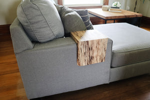 Spalted Maple Armrest Table
