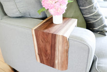 Load image into Gallery viewer, Live Edge Walnut Armrest Table