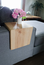 Load image into Gallery viewer, Solid Ash Hardwood Armrest Table