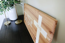 Load image into Gallery viewer, Solid Hickory Wood Wall Sign