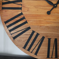 Red Elm Wall Clock