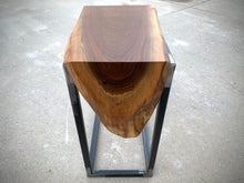 Load image into Gallery viewer, Waterfall Walnut Wood Laptop C Table