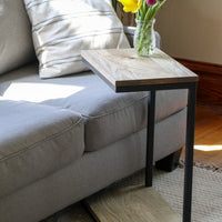 Hackberry Floor Shelf Modern C Side Table