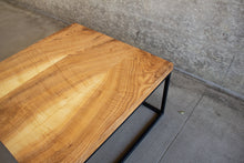 Load image into Gallery viewer, Industrial Solid Wood and Steel Coffee Table