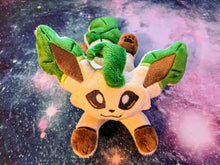 Load image into Gallery viewer, Leafeon Kuttari Beanie Plush