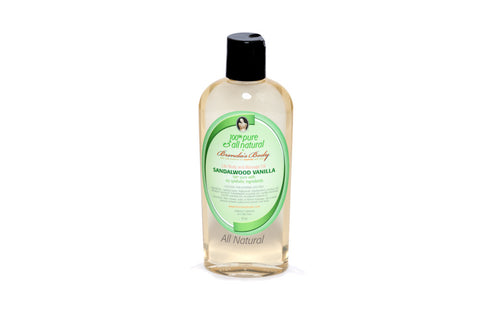 Lite Body and Massage Oil - Sandalwood Vanilla