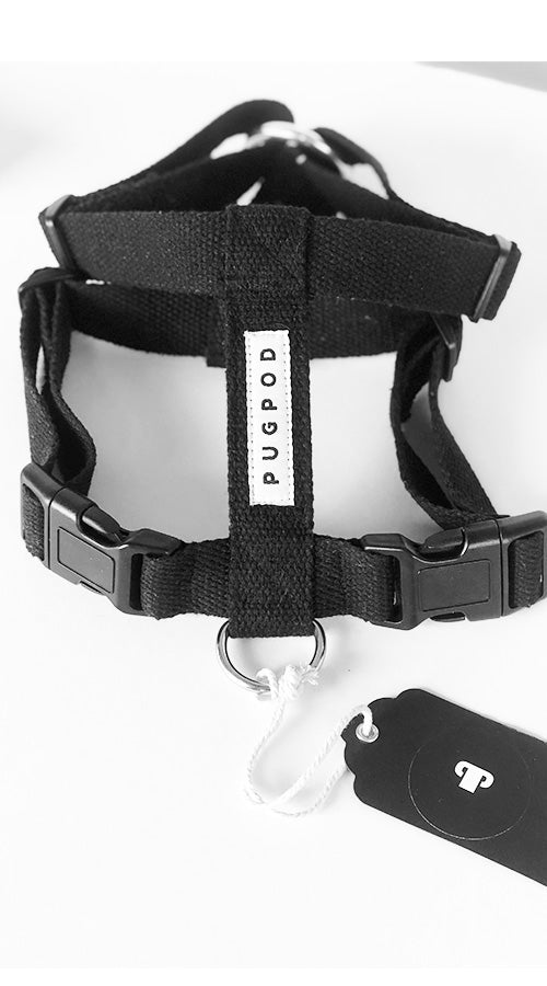 PUG FRIENDLY HARNESS IN COTTON