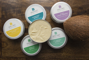 Whipped Body Lotion Cream, regular and Island Breeze scents