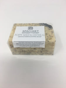 Poppy Seed and Oatmeal Soap