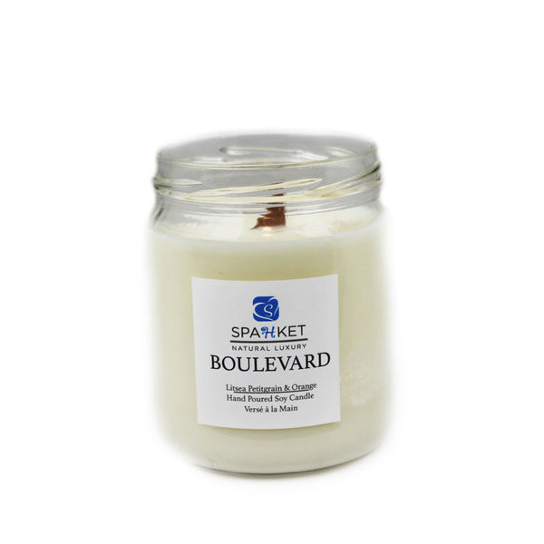 BOULEVARD SOY CANDLE- Litsea, petitgrain and orange