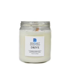 DRIVE SOY CANDLE - Lemongrass, ginger, clove