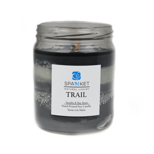 TRAIL SOY CANDLE - Vanilla and bay rum