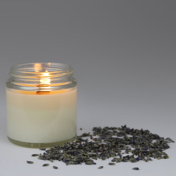 CIRCLE SOY CANDLE - Lavender, ylang ylang and jasmine