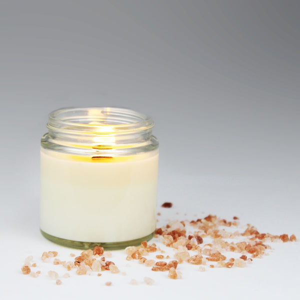 CRESCENT SOY CANDLE - Himalayan salt, frankincense and lemon