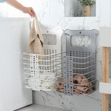 Load image into Gallery viewer, Plastic Foldable Laundry Storage Basket