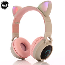 Load image into Gallery viewer, Cat Ear Bluetooth 5.0 Headphones