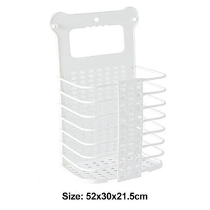 Plastic Foldable Laundry Storage Basket