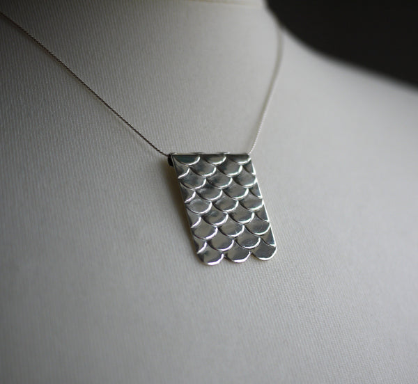 Scales Sterling Silver Necklace