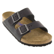 Load image into Gallery viewer, Birkenstock Arizona BS Soft Footbed Black