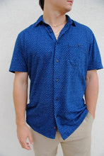 Load image into Gallery viewer, Large Faherty SS Knit Coast Shirt