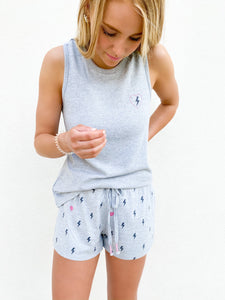PJ Salvage Peach Party Short