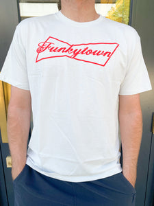 The Fort Funkytown Budweiser T Grey