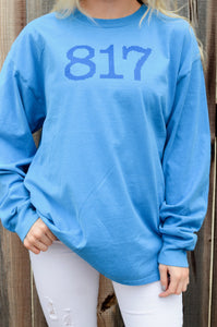 The Fort Clothing 817 Long Sleeve Blue