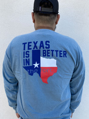 The Fort Clothing Texas Is Better Long Sleeve Jean