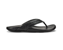 Load image into Gallery viewer, Olukai Honoli'i M's Flip Flops Black