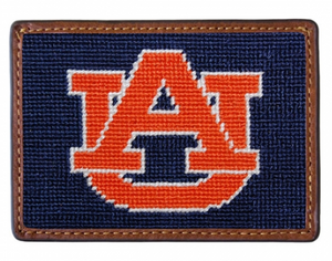 Smathers & Branson Collegiate Needlepoint Card Wallet