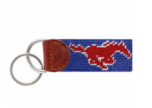 Load image into Gallery viewer, Smathers & Branson Collegiate Needlepoint Key Fob