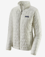 Load image into Gallery viewer, Patagonia W's Nano Puff Jacket White