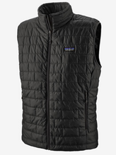 Load image into Gallery viewer, Patagonia M's Nano Puff Vest Black