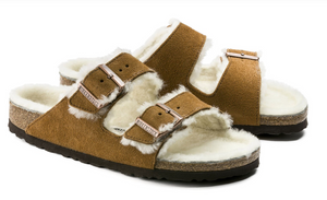Birkenstock Arizona Fur Mink