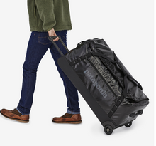 Load image into Gallery viewer, Patagonia Black Hole Wheeled Duffle 100L - Black