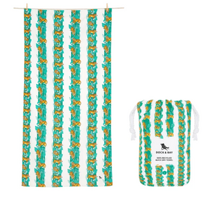 QUICK DRY BEACH TOWEL - JUNGLE COLLECTION